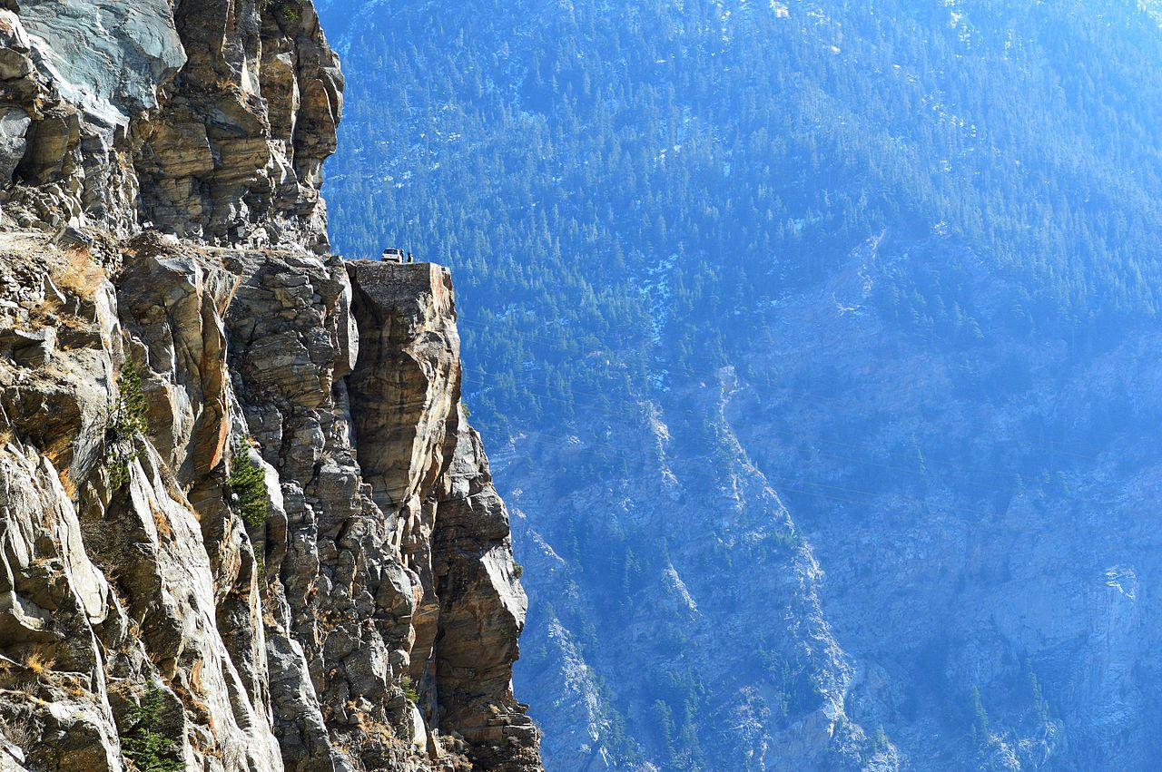 Sight-seeing Place to See in Kalpa-Suicide Point
