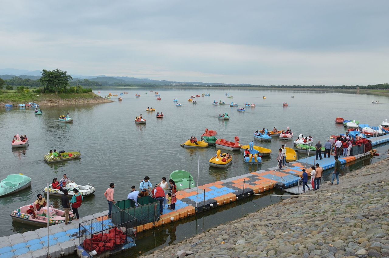 Sightseeing Place to Visit In Chandigarh-Sukhna Lake