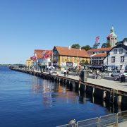 Sunset and Chill Along Stavanger's Harbor - Must Visit Place In Stavanger Region, Norway