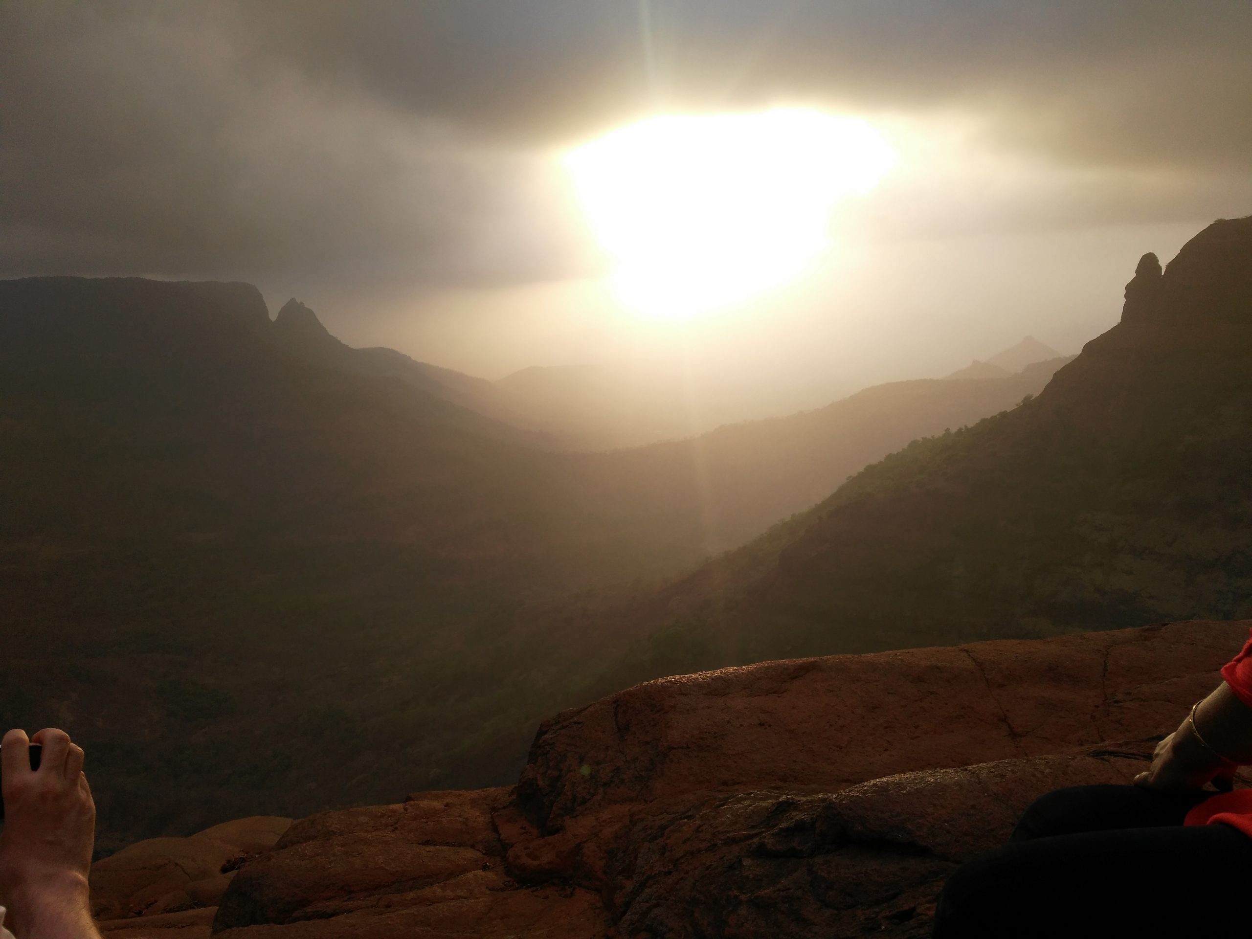 Amazing Place in Matheran-Sunset Point