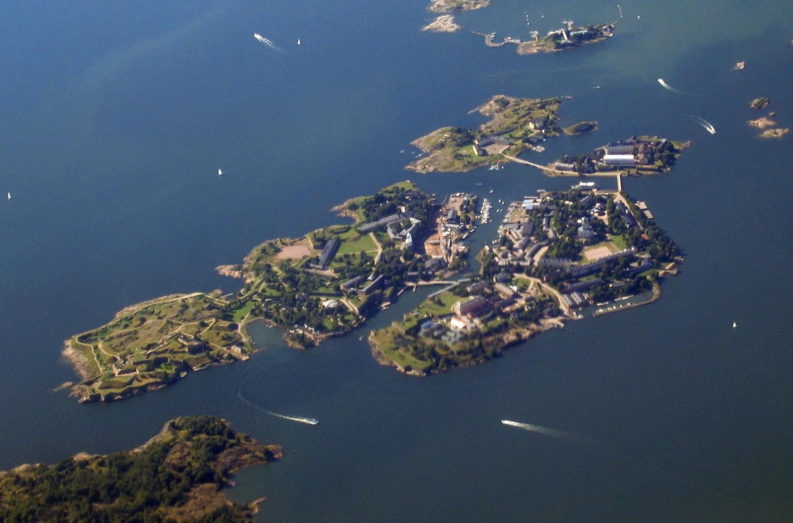 Suomenlinna Birds Eye View, Helsinki Travel