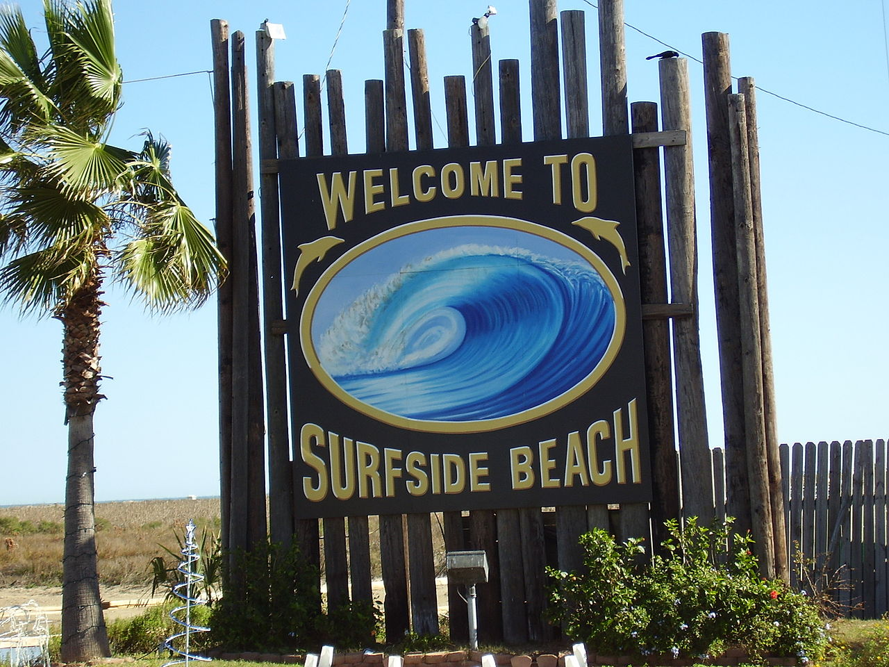 Famous Beach Near Houston-Surfside Beach
