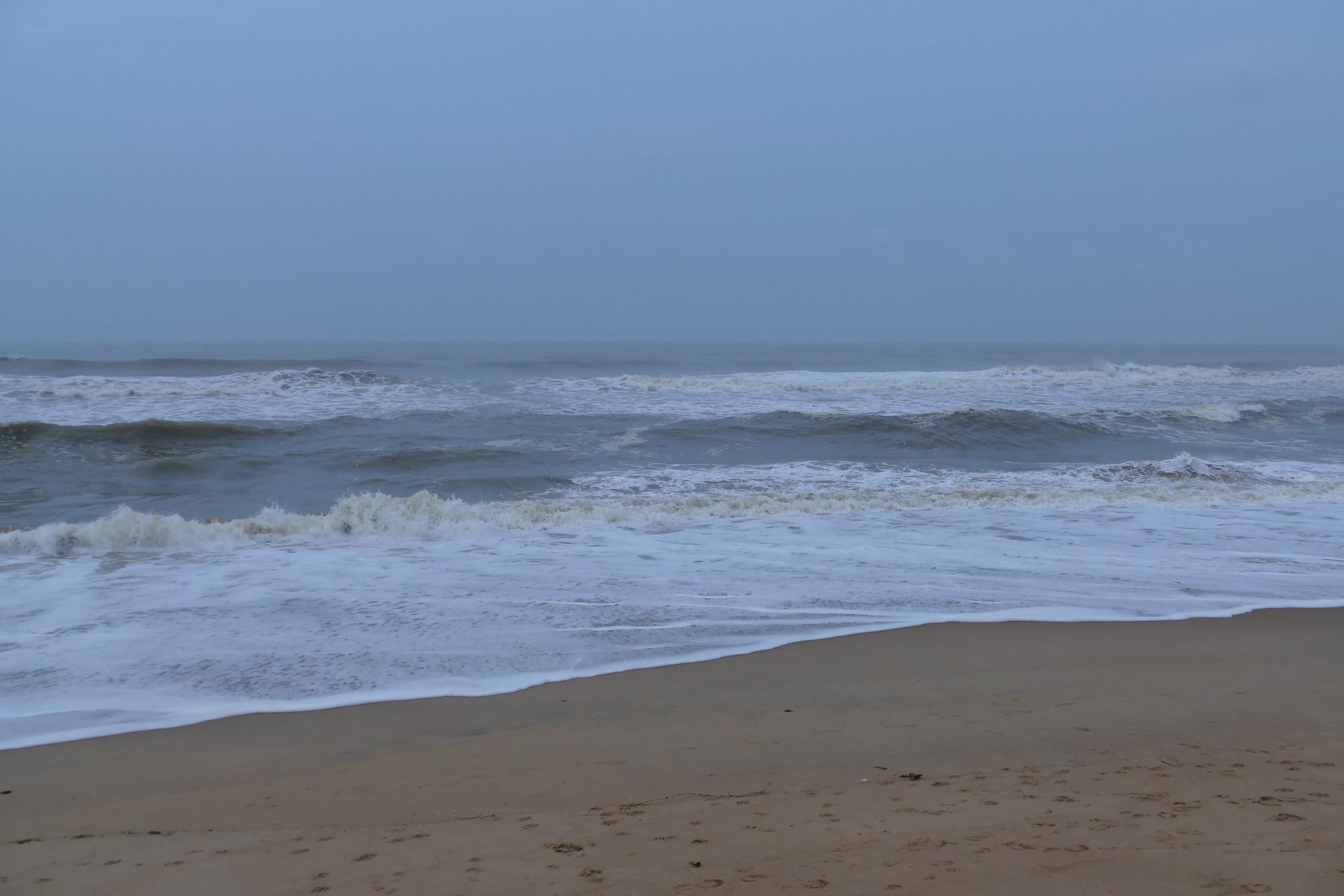 Magnetic Attraction of Puri-Swargadwara Beach, Puri