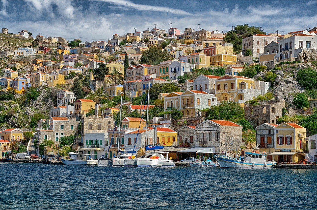 Symi Island in Greece