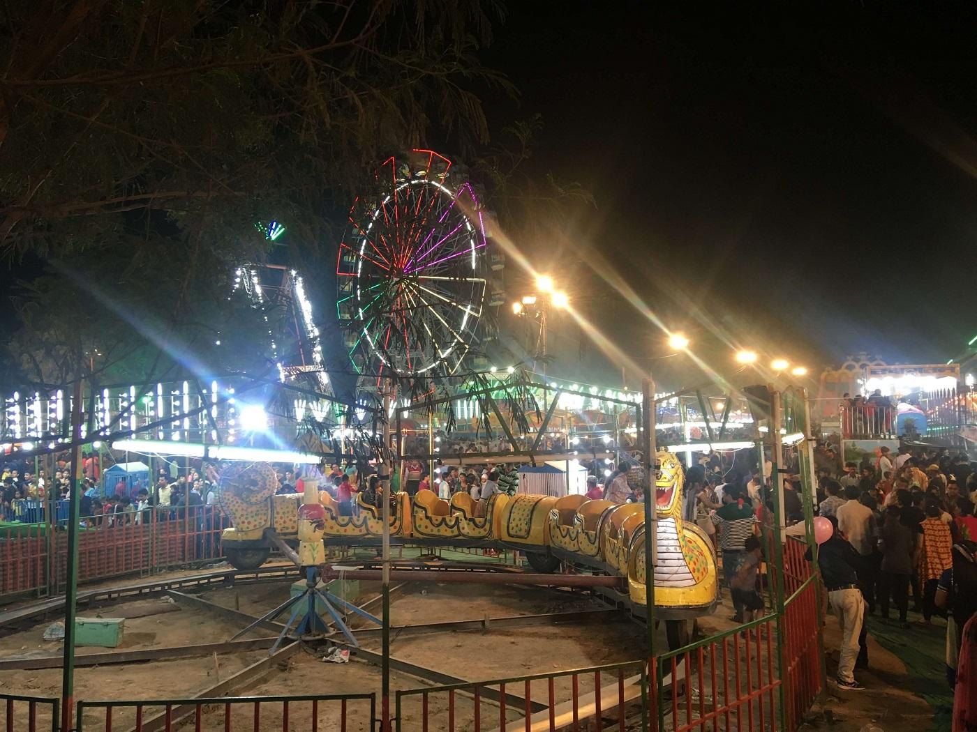 Top Festival Celebrated In Uttar Pradesh-Taj Mahotsav