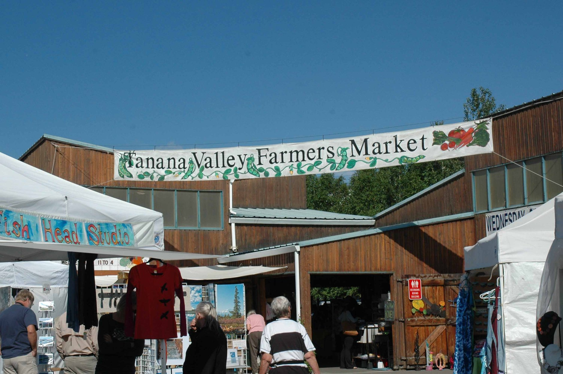 Best Summer Market in Alaska-Tanana Valley Farmers Market, Fairbanks, Alaska