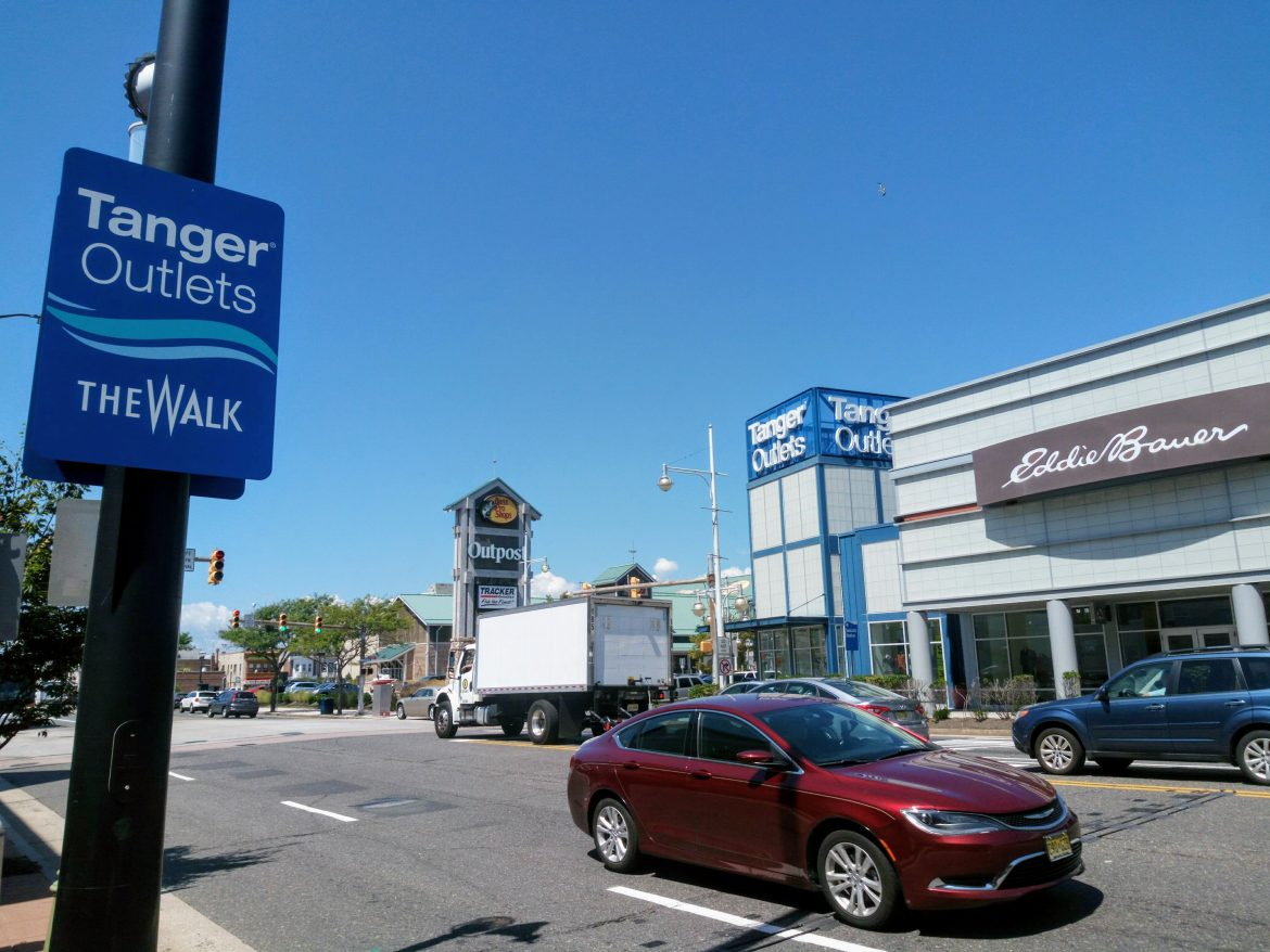 Best Place To Shop In Atlantic City-Tanger Outlet