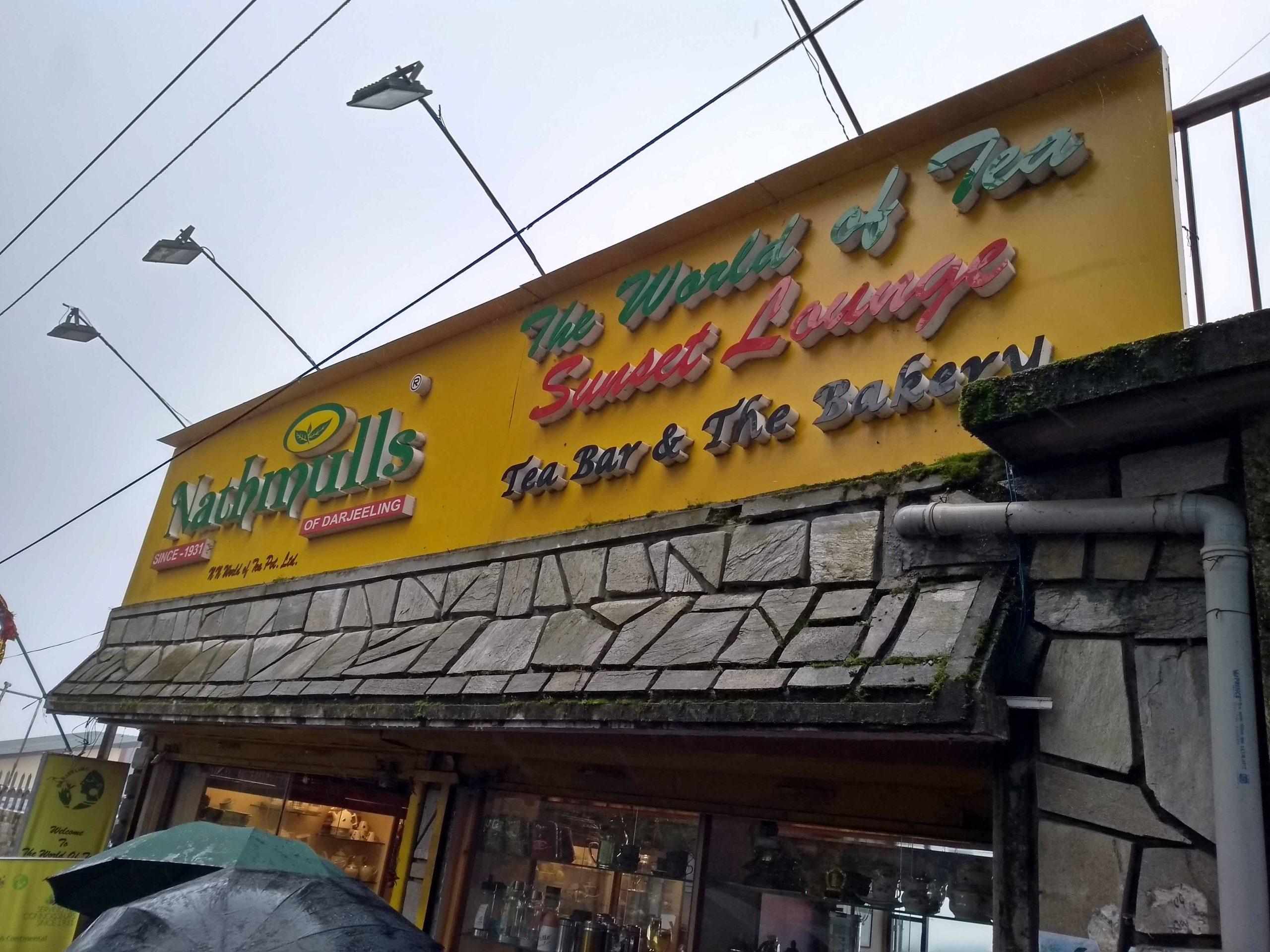 Tea Bars- Nathmull's - Top Restaurant In Darjeeling Every Food-Lover Must Try