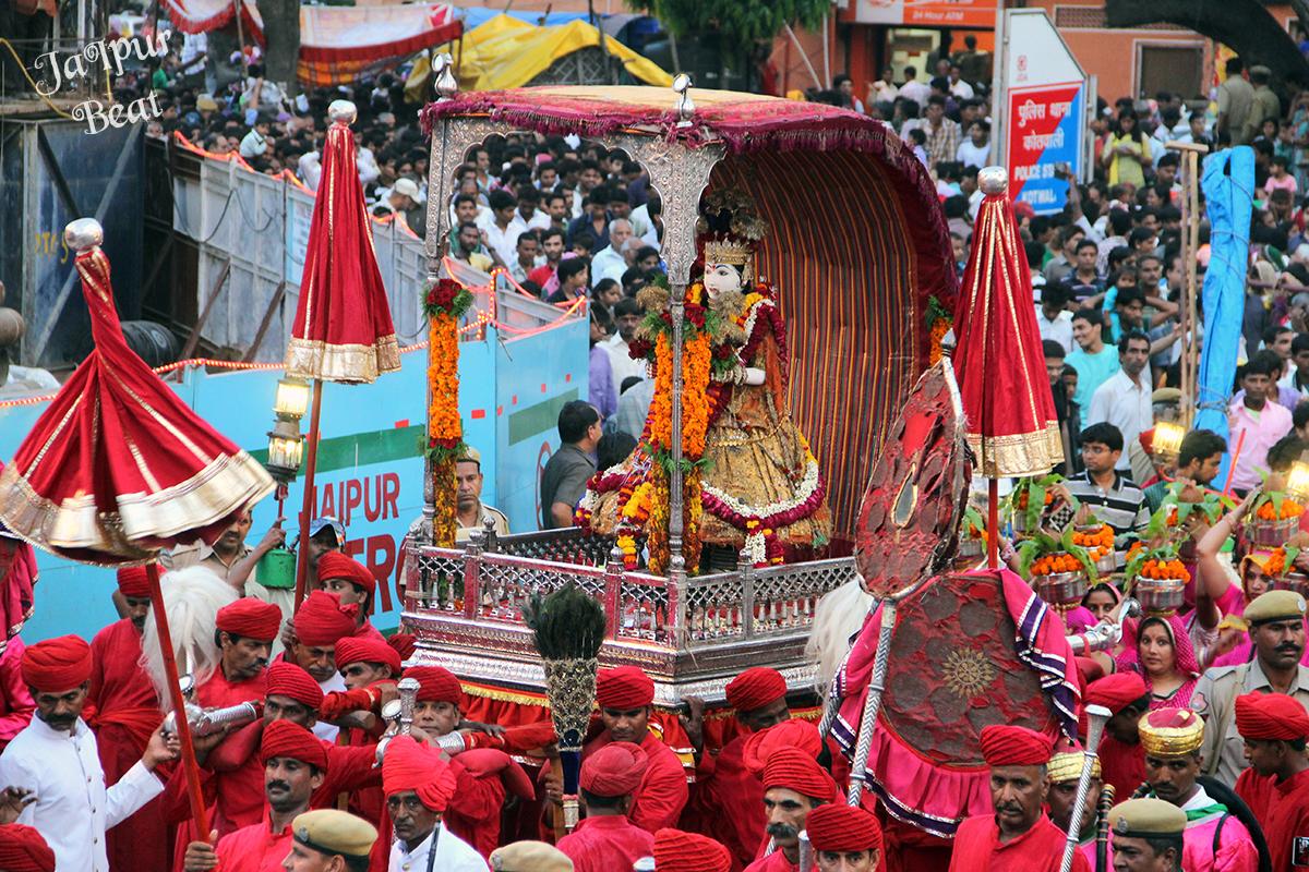 Incredible Festival Of Rajasthan-Teej Festival, Jaipur
