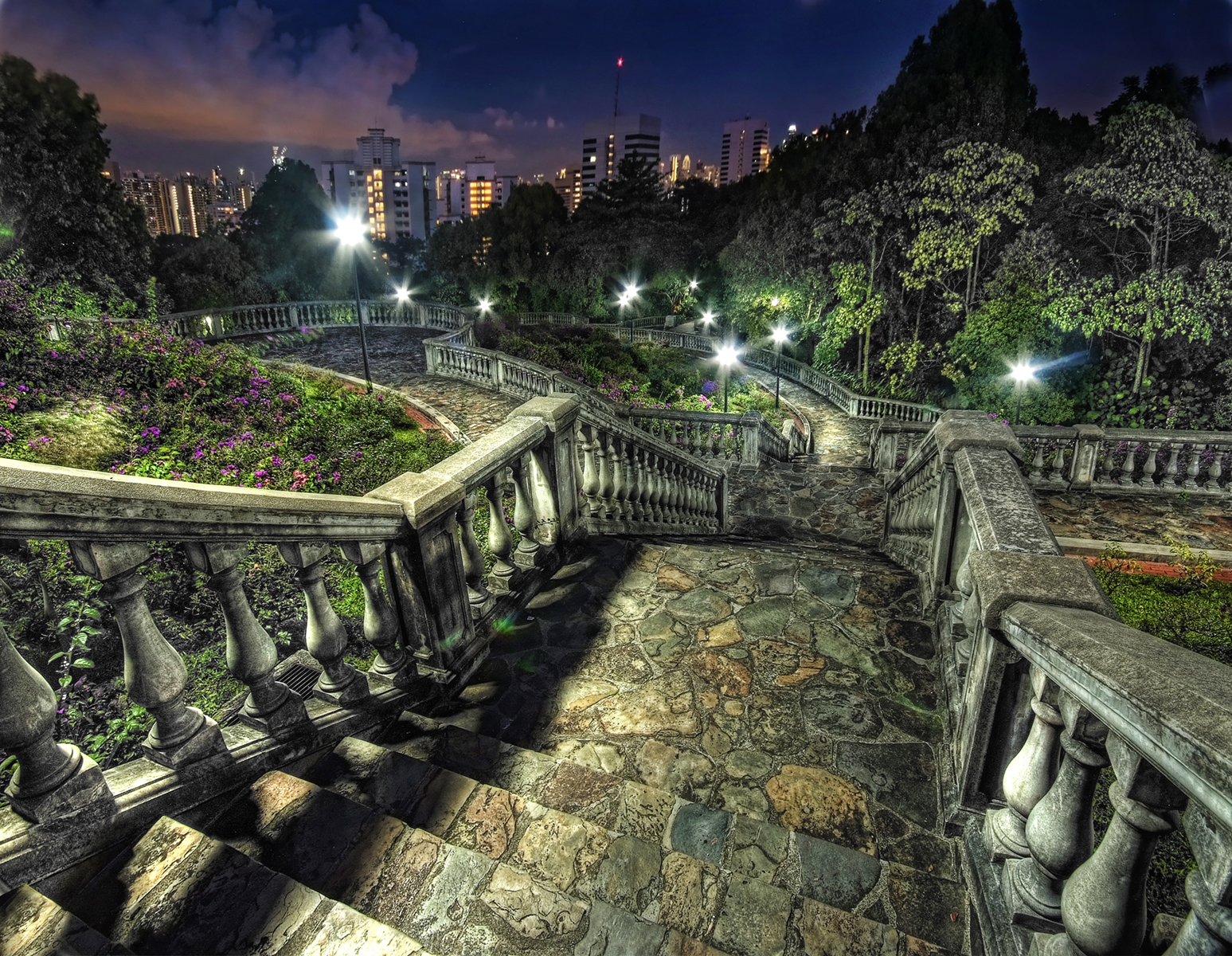Amazing Hill Natural Point in Singapore-Telok Blangah Hill