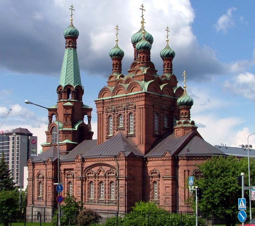 Tempere Places To Visit Orthodox Church