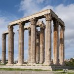 Olympieion - Temple of Olympian Zeus in Athen, Greece