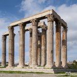 Olympieion - Temple of Olympian Zeus in Athen, Greece