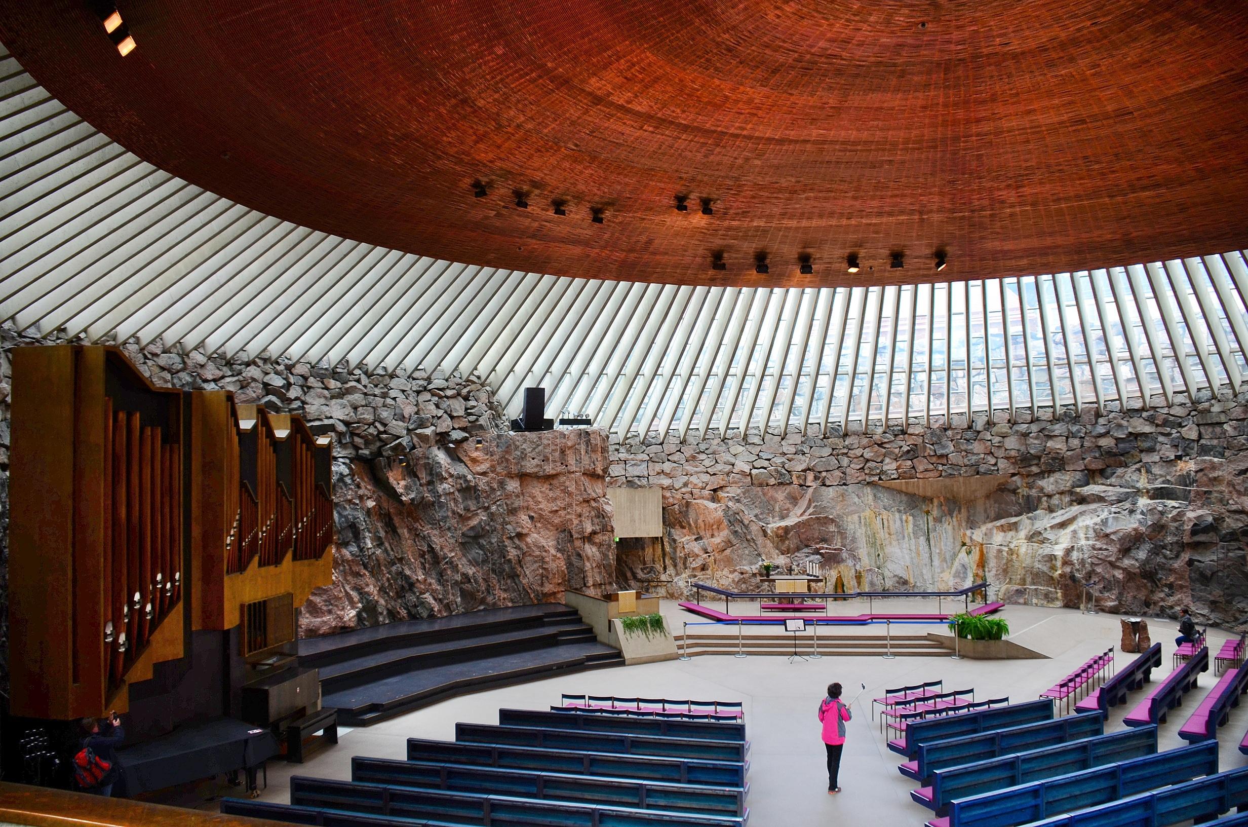 Temppeliaukio Church-Helsinki Travel