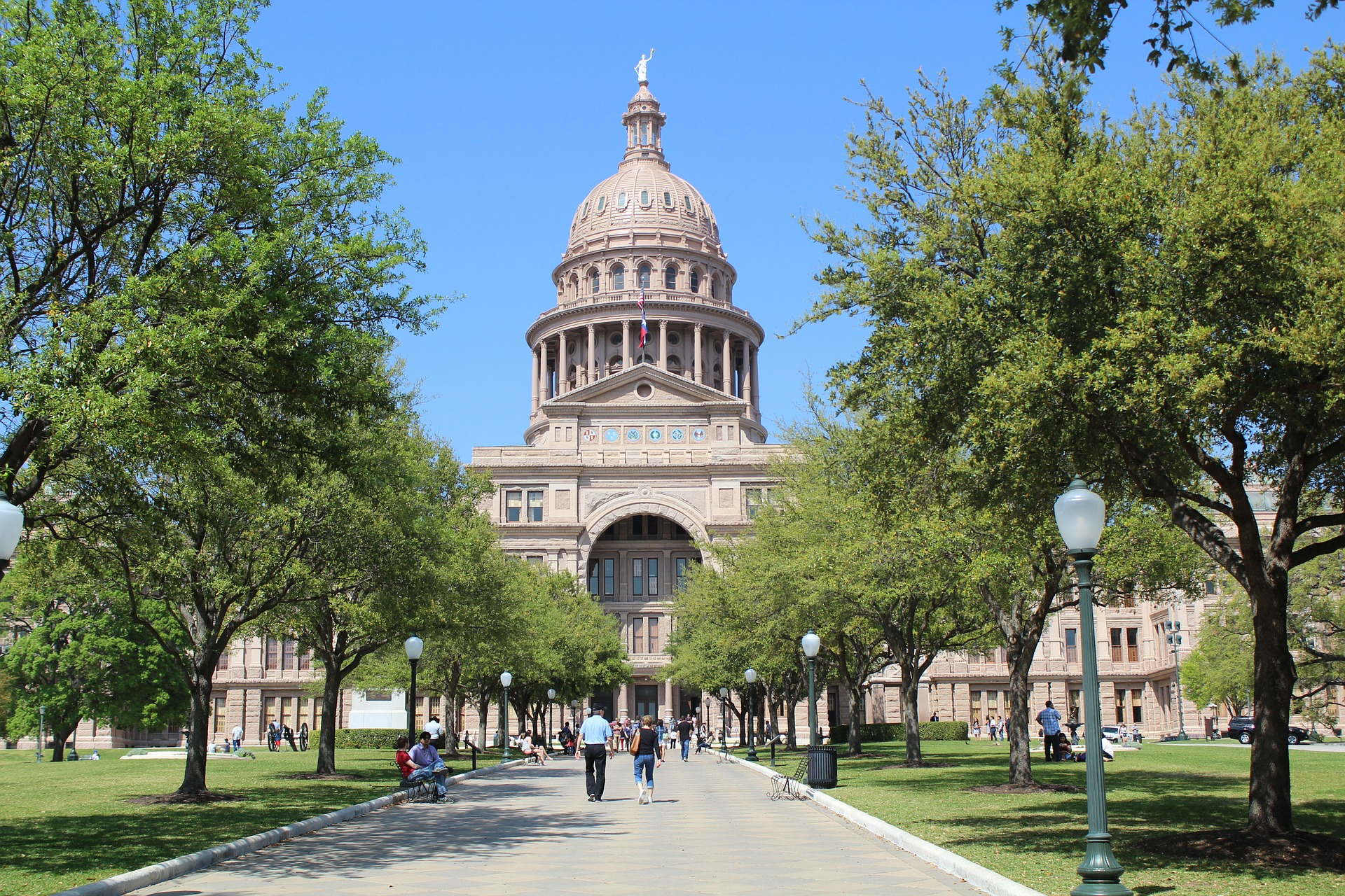 Texas State Capitol - Major Tourist Attraction In Austin, Texas