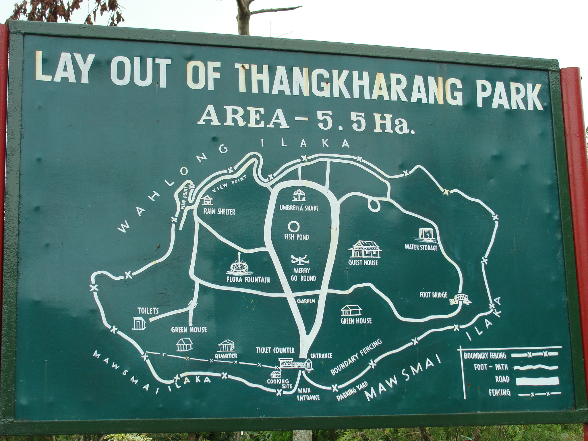Amazing Attraction to Visit Nearby Nohkalikai Waterfalls-Thangkharang Park