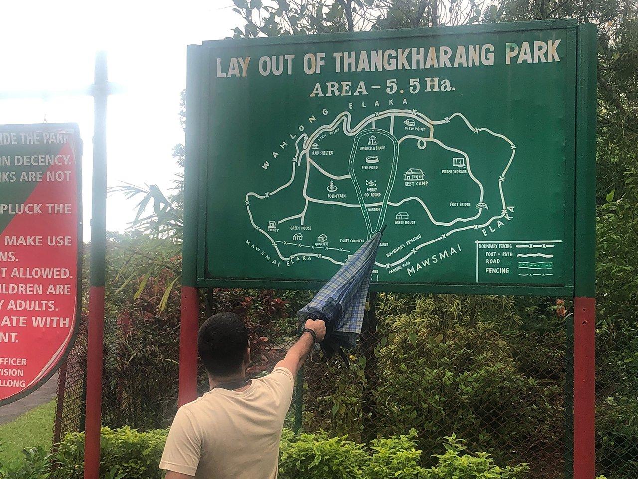 Sightseeing Place to Visit In Cherrapunji-Thangkharang Park