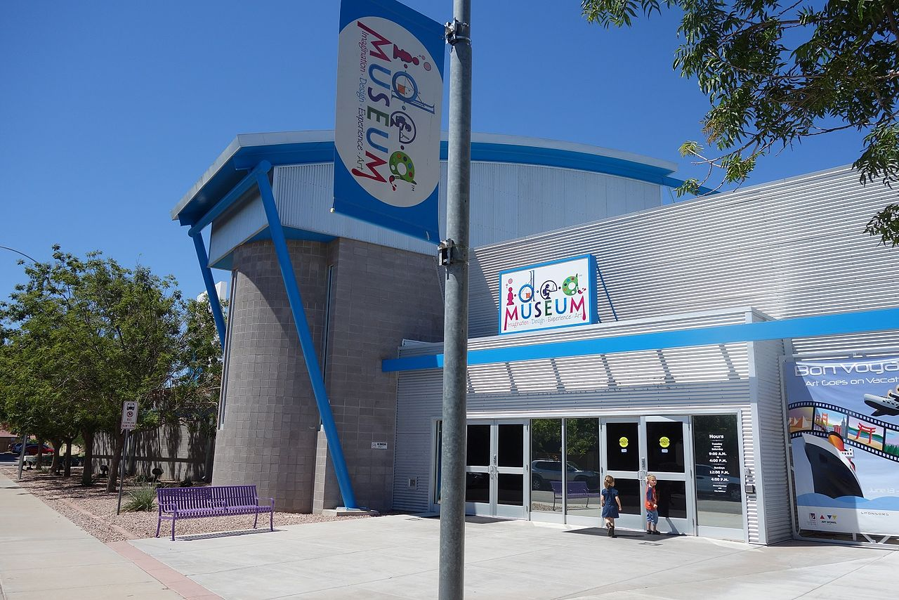 Attraction Place To Visit In Mesa-The I.D.E.A Museum or Arizona Museum for Youth