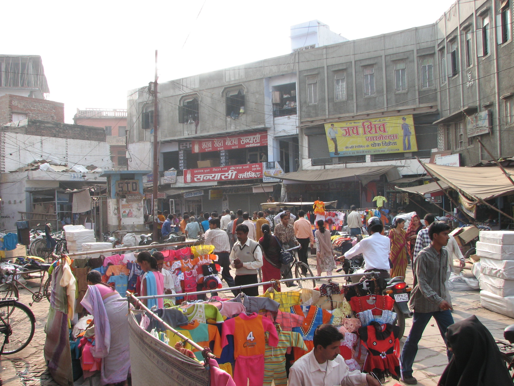 The Agra Markets in Agra-Amazing Sightseeing Place