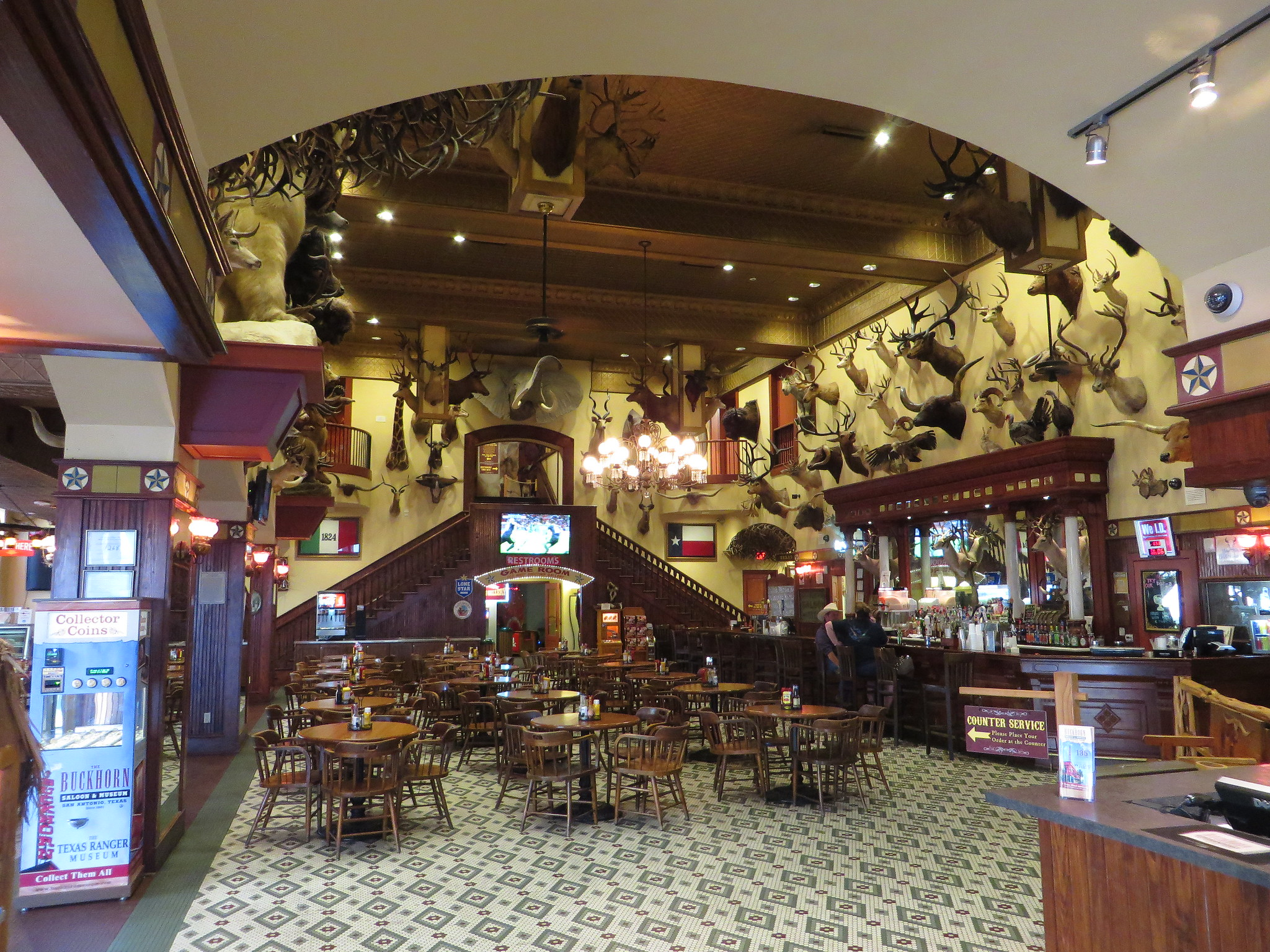 Famous Museum in San Antonio-The Buckhorn Saloon and Museum