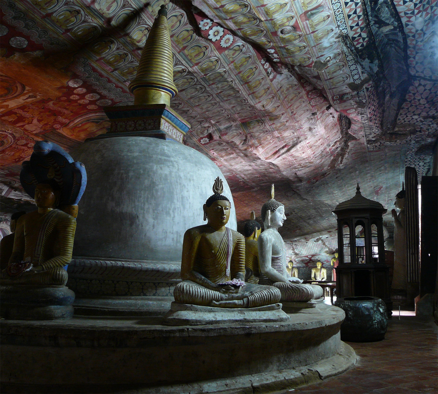 The Dambulla Cave Temple - Place to Visit in Sri Lanka To Make Your Vacation a Memorable One