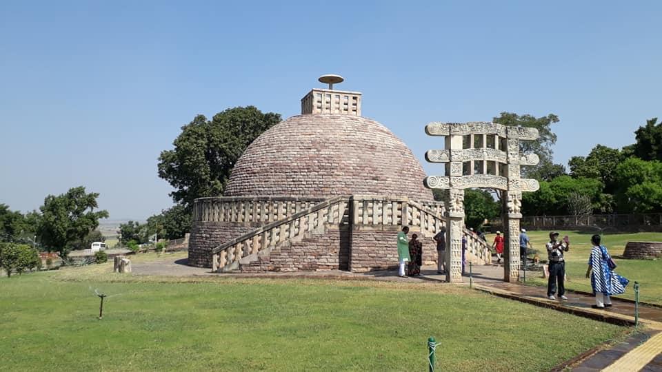 The Enchanting History Of Sanchi Stupa