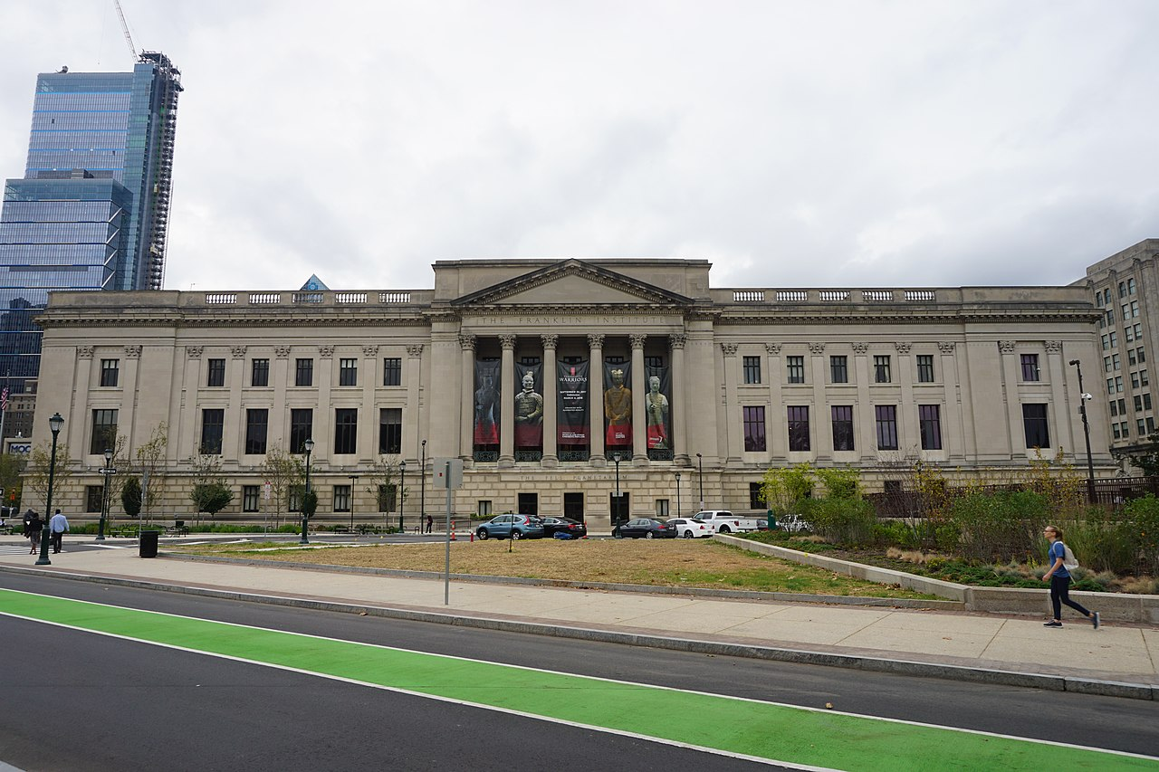 Famous Tourist Attraction in Philadelphia-The Franklin Institute Science Museum