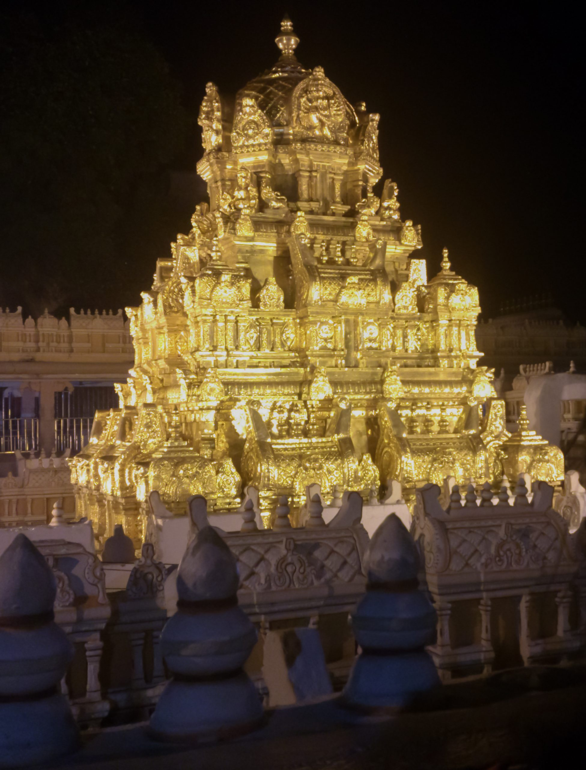 Best Attraction at Kanaka Durga Temple-The Golden Crown