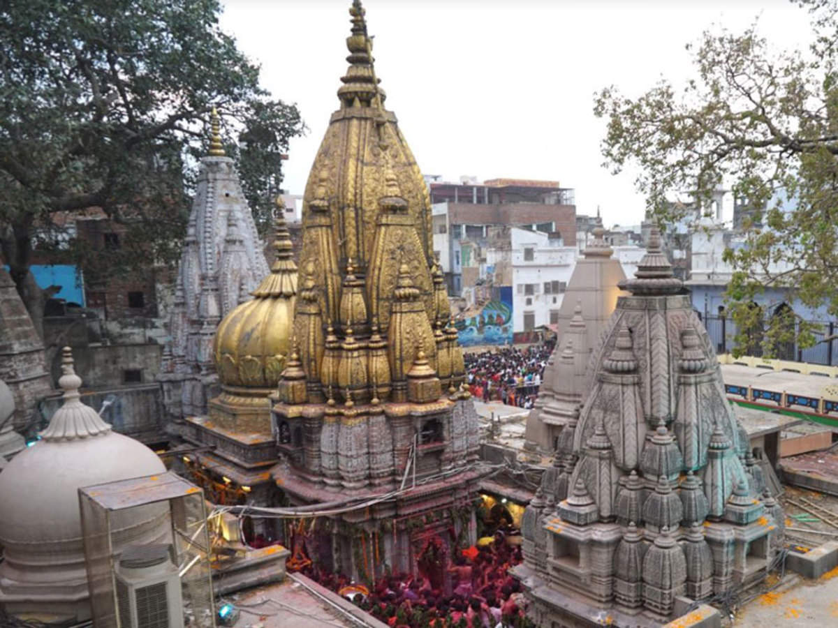 Attraction Tourist Place at Kashi Vishwanath Temple-The Golden Domes