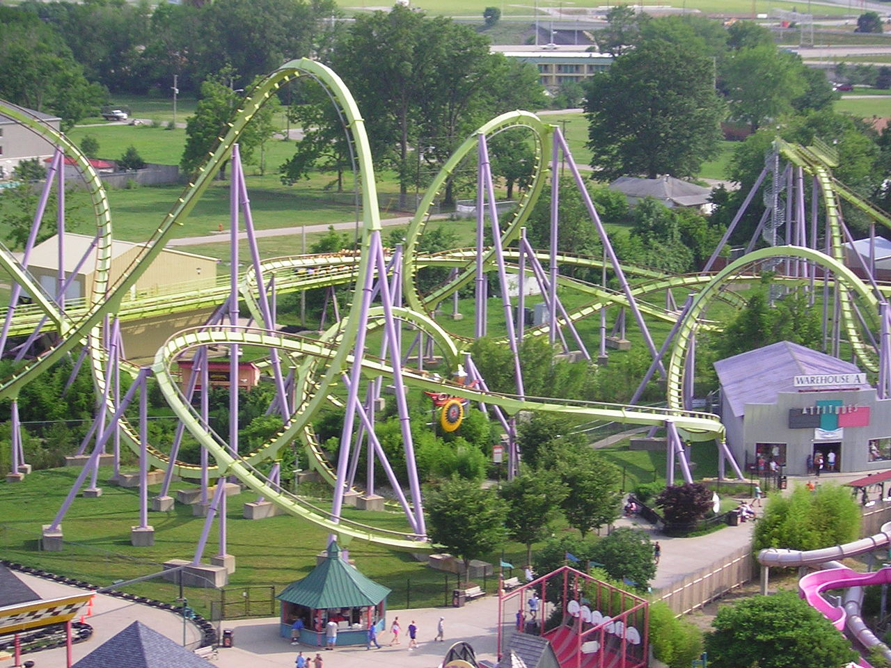 Amazing Destination to Visit In Kentucky's-The Kentucky Kingdom and Hurricane Bay