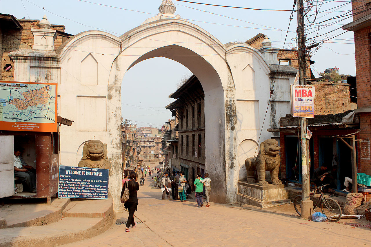 The Lion Gate - Best Place to Visit in Bhaktapur