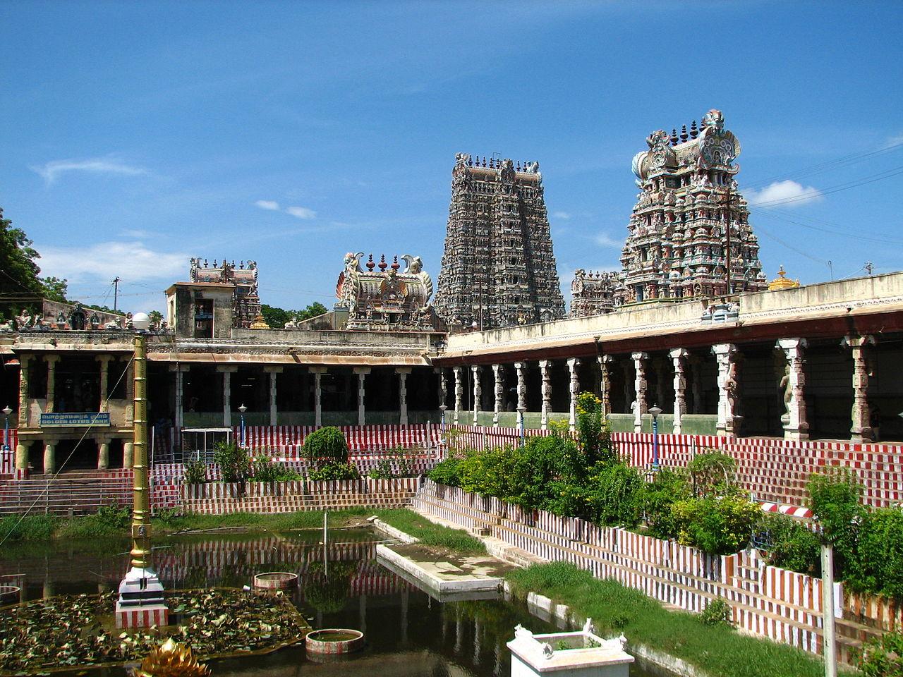 Best Historical Place In Tamil Nadu-Meenakshi Amman Temple, Madurai