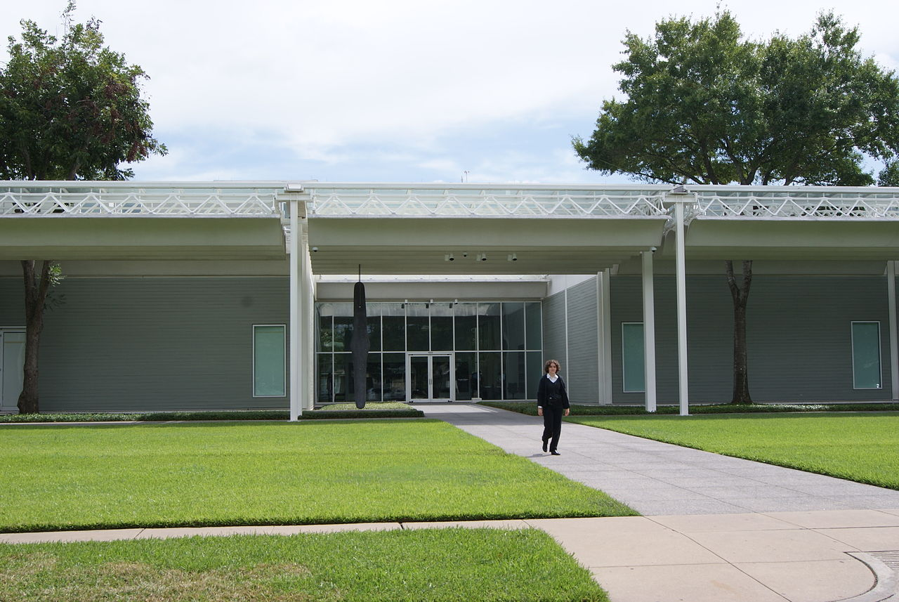 Top Place in Houston-The Menil Collection