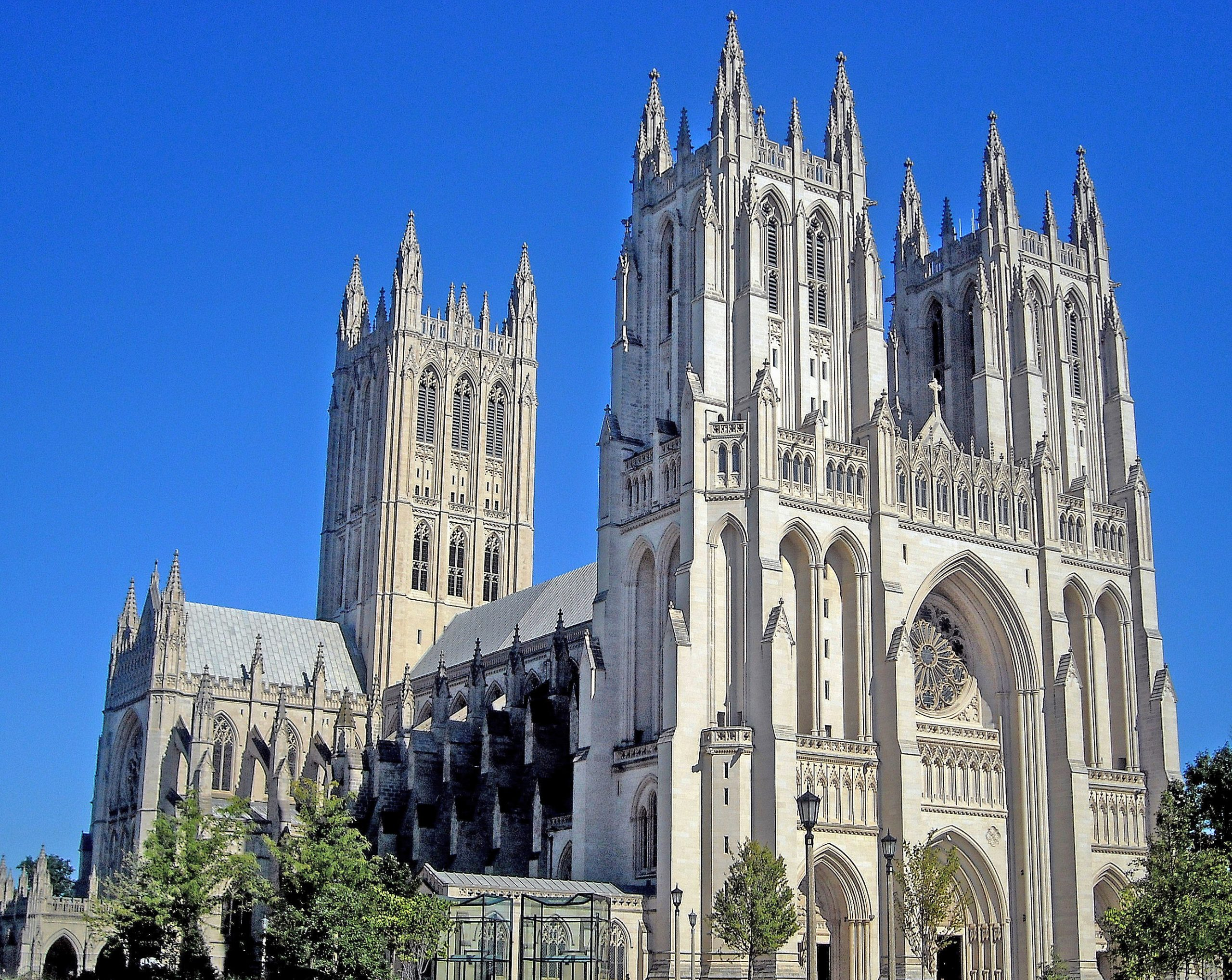 Best Place in Washington DC-The National Cathedral