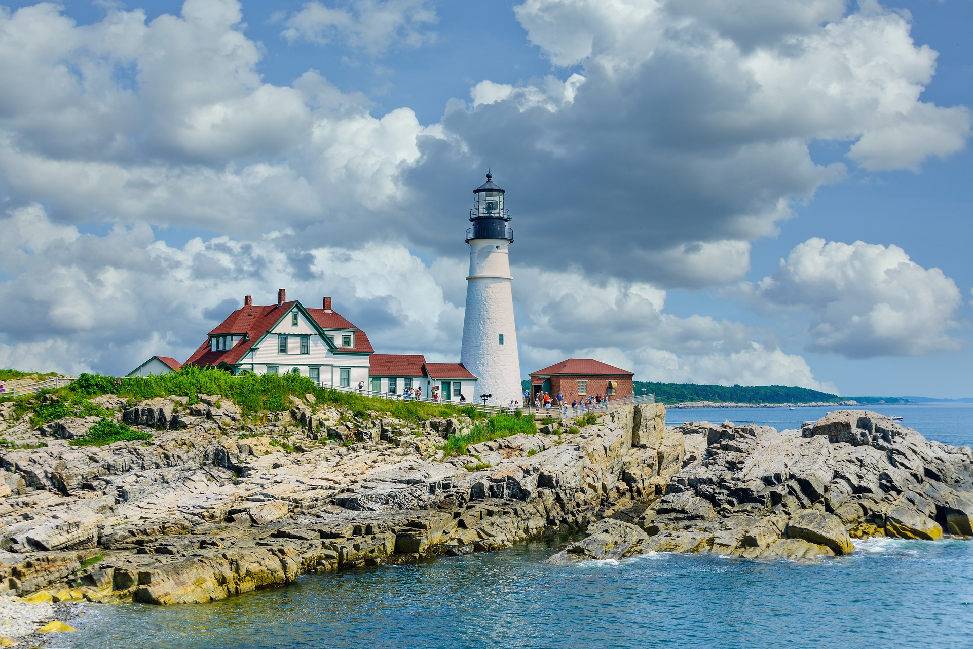 The Old Port and Portland Head Lighthouse - Top attraction to see in Maine