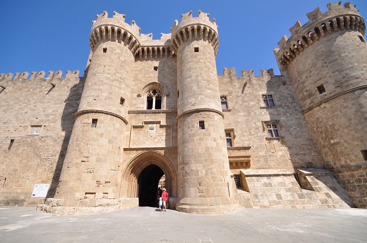 Places To See In City Of Rhodes-The Palace of the Grand Master of the Knights of Rhodes