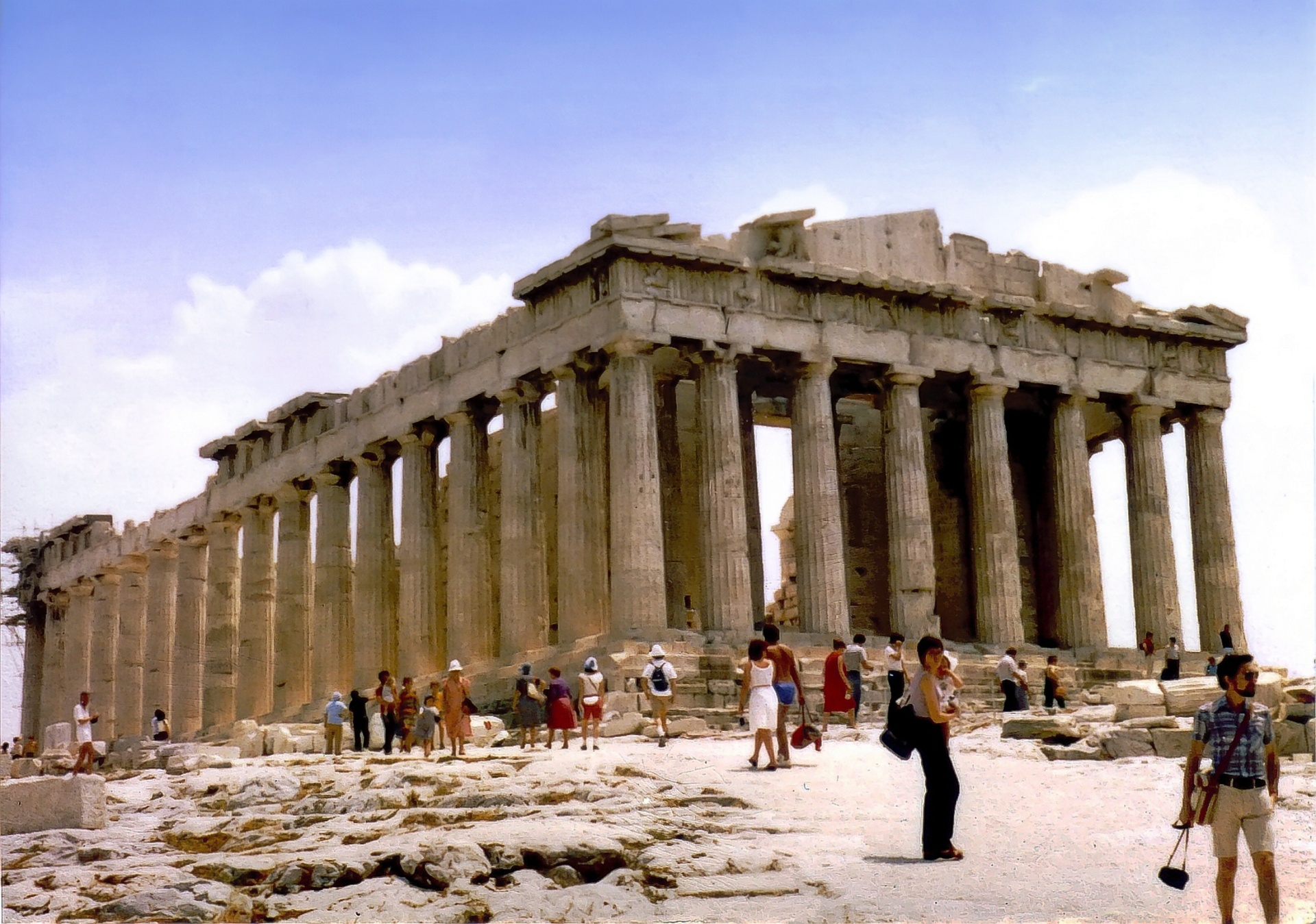 The Parthenon - Sight-Seeing Destinations in Athens