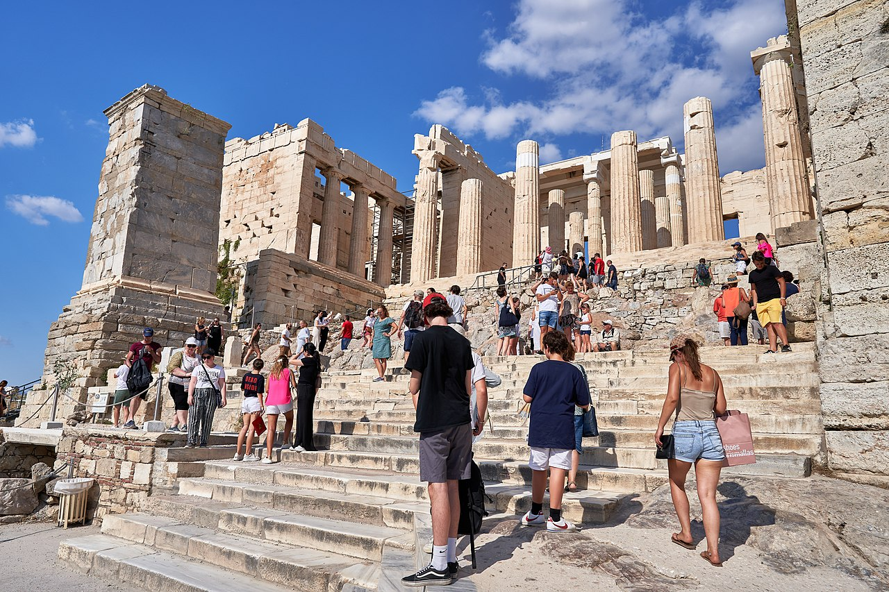 The Propylaea - Sight-Seeing Destinations in Athens