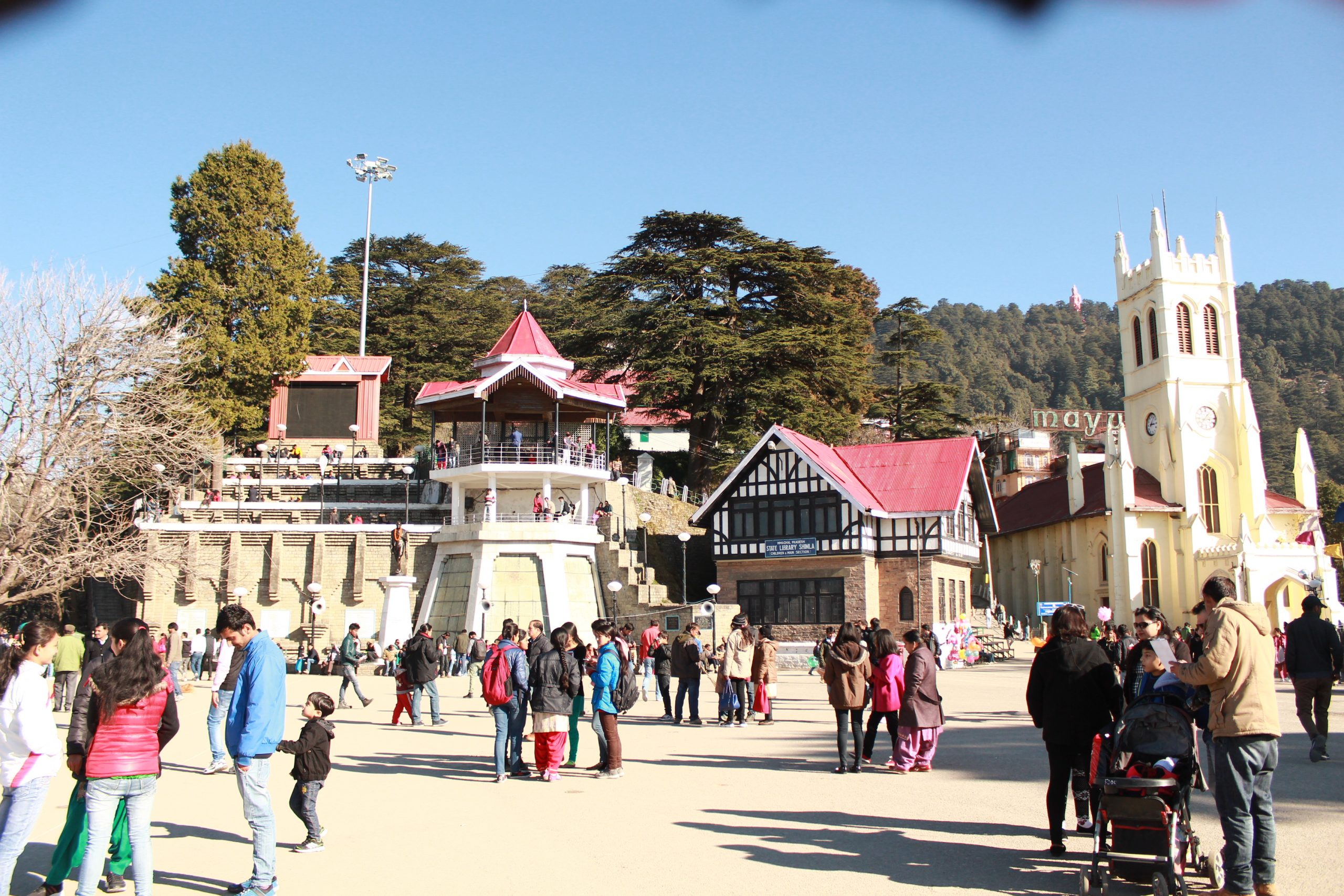 The Ridge - Amazing Places to Visit Shimla and Kufri Travel Guide