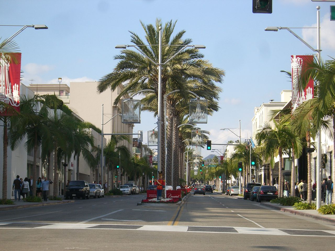 Top Place in Los Angeles-The Rodeo Drive