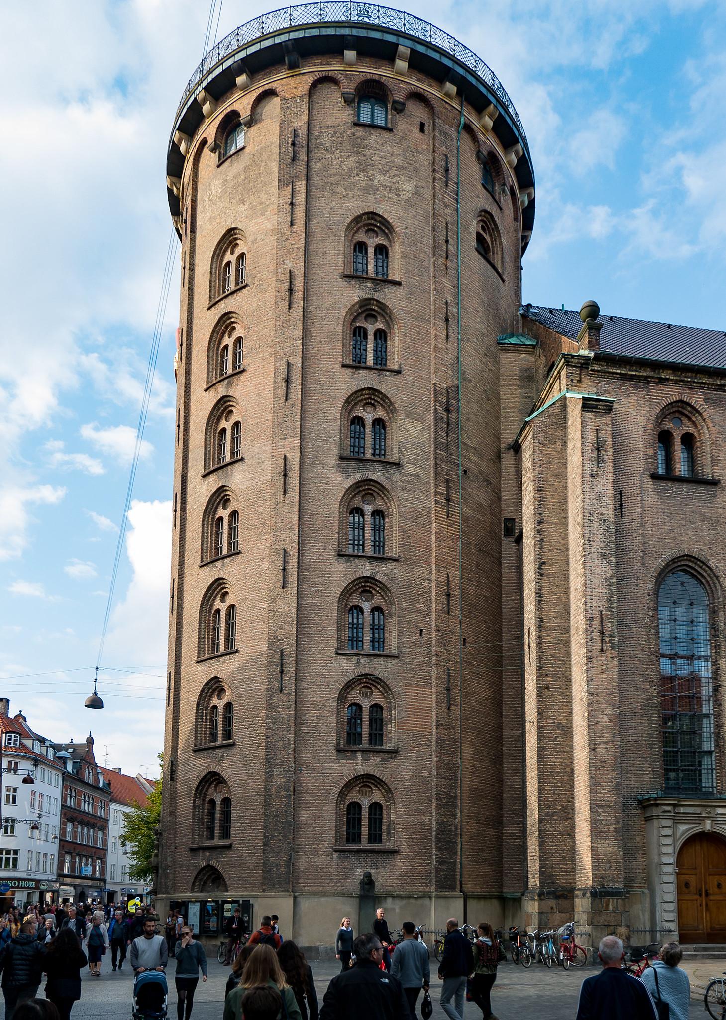 The Round Tower - Popular Tourist Destinations in Copenhagen