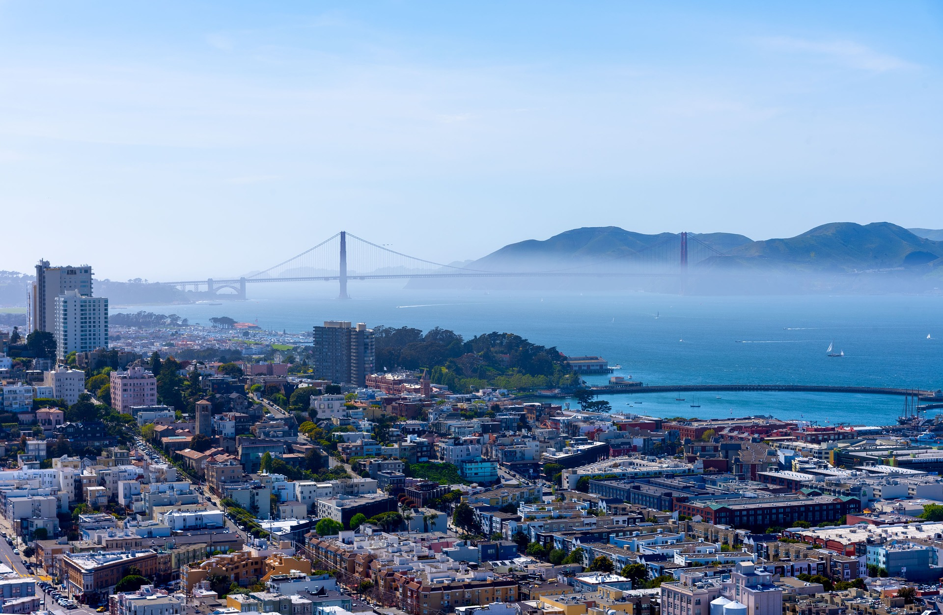 Magnetic Attractions to Visit in California - The San Francisco Bay Area, California Golden Gate Bridge
