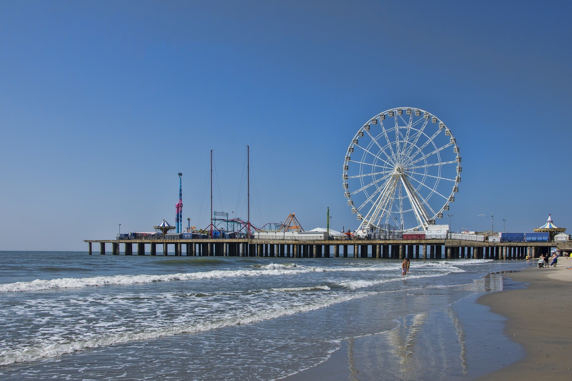 Top Attraction to Visit in Atlantic City-The Steel Pier