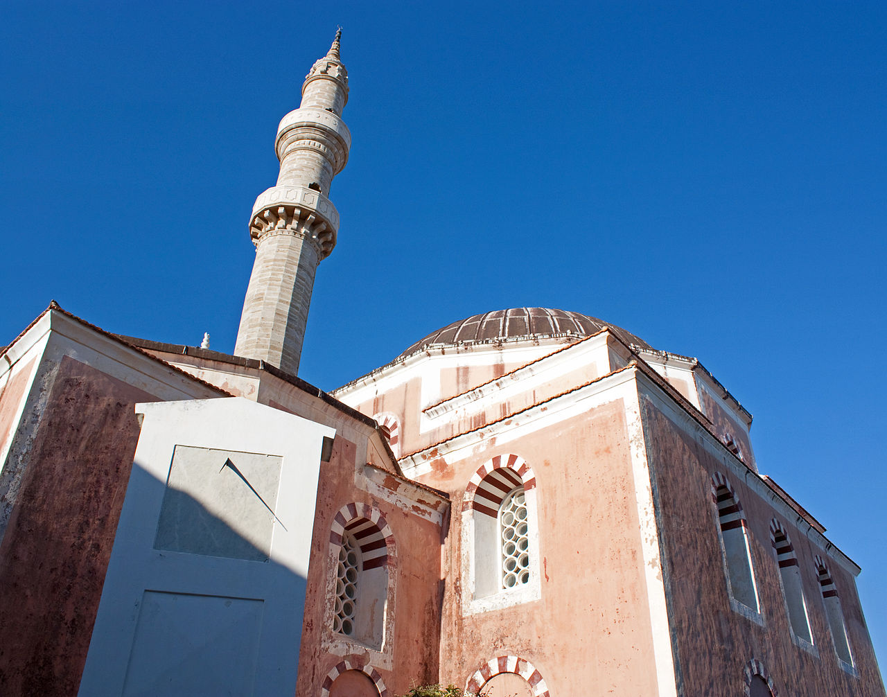 Top Tourist Place In Rhodes-The Suleman Mosque
