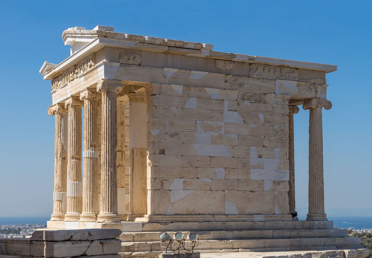The Temple of Athena Nike - Sight-Seeing Destinations in Athens