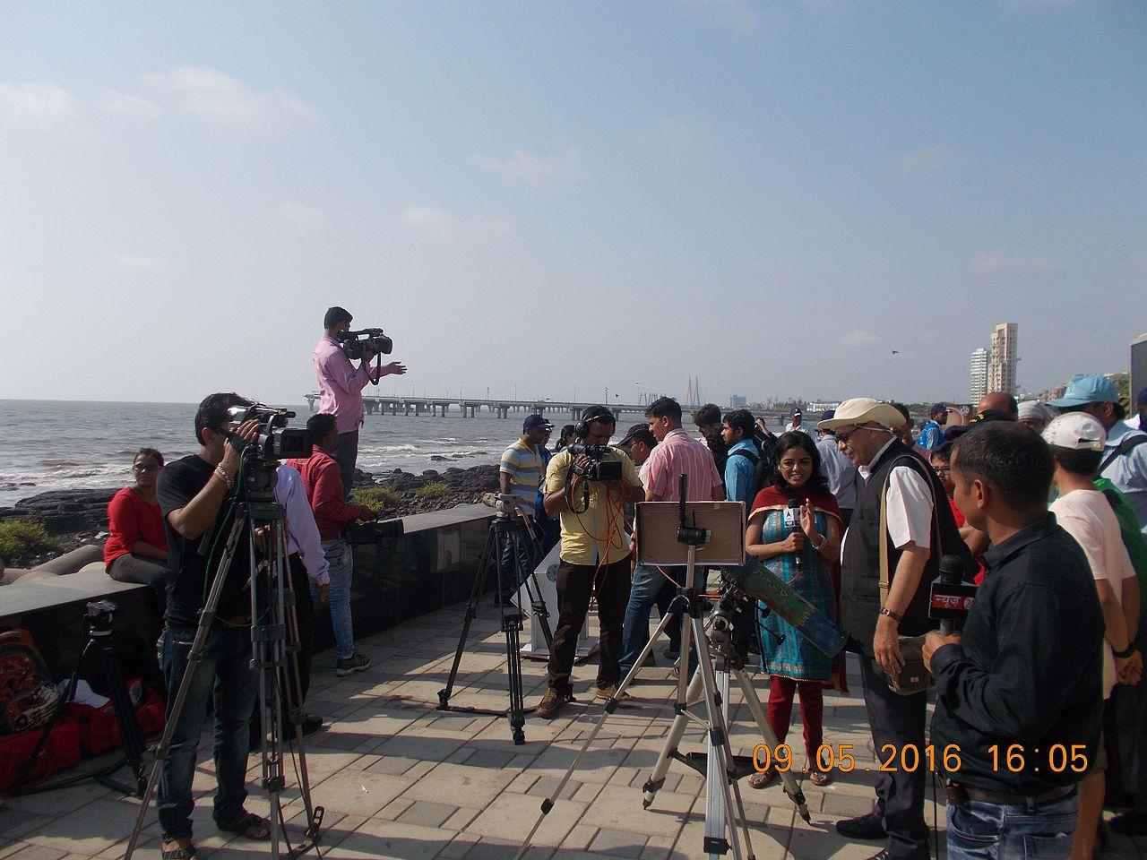 The Worli Sea Face Experience, Mumbai