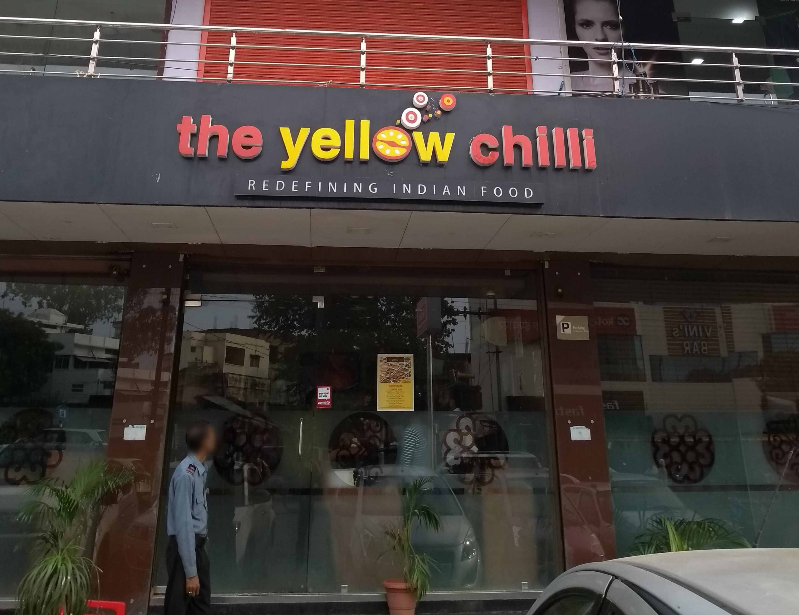 Top Restaurant In Jabalpur-The Yellow Chilli