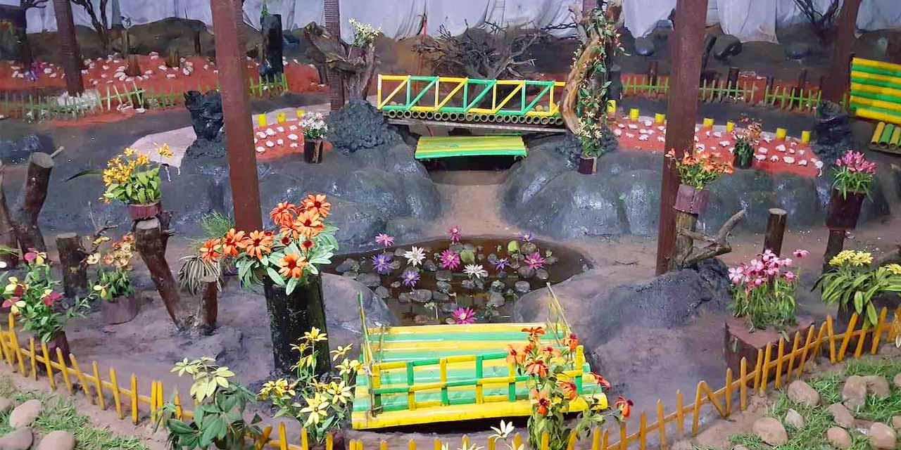 Amazing Enchanting Garden of Ooty-Thread Garden