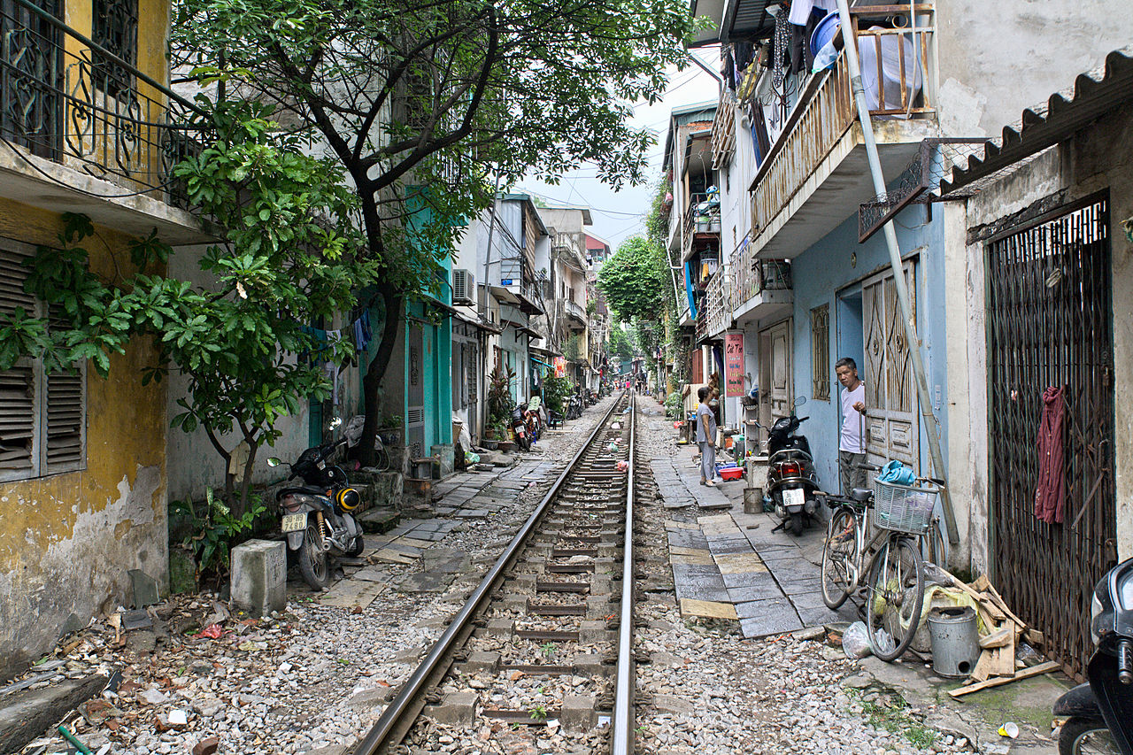 Thrill Yourself at Train Street in Hanoi