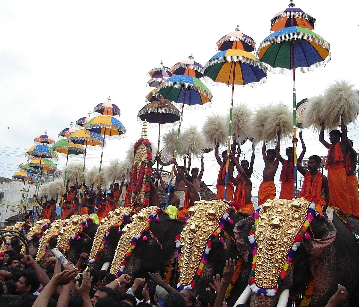 Famous Festival of Kerala-Thrissur Pooram